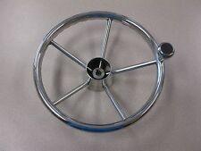 """20/"""" Destroyer Stainless Steel Boat Steering Wheel 10Deg SSSW20.00X10DEG"""