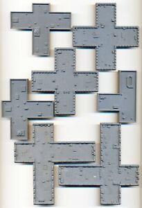 CITADEL WARHAMMER 4OK EPIC ADEPTUS TITANICUS OOP SCENERY BUILDINGS