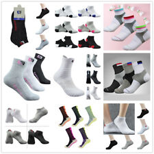 Men_Women Riding Cycling Sports Thicken Socks Breathable Bicycle Footwear Un /y