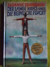 DER LANGE HANS ODER DIE HEIMLICHE FLUCHT, Susanne Ellensohn, Astrid Preis 1999.!