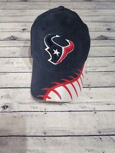 New HOUSTON TEXANS Baseball Cap NFL PRO LINE Authentic REEBOK Hat Adjustable