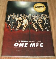 GOT7 2PM JYP NATION KOREA 2014 ONE MIC OFFICIAL GOODS LIMITED MESSAGE BOOK NEW