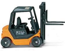 Wiking 066301 Still R 70-25 Fork Lift Truck Orange (HO Gauge)