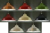 Metal Lampshade American Diner Ceiling Lamp Light Shade Fitting Large 40cm