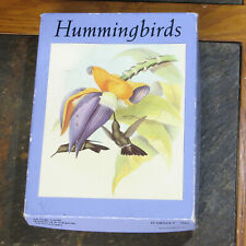 Vtg Lithograph Hummingbird Botanical Notecards Metropolitan Museum of Art