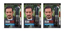 Blackbeard X Para Hombre Color Mascara Barba Bigote Cejas temporal Color Negro