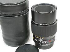 LEICA APO MACRO-ELMARIT R 2,8/100 3-cam für SL/SL2 R3-R7(R8/9) TOP + Lederköch.