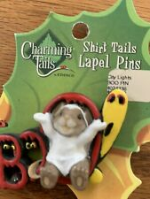"""Charming Tails """"Boo Halloween"""" Lapel Pin Mouse � Dean Griff"""