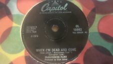 """MCGUINNESS FLINT WHEN I'M DEAD AND GONE 7"""" 1970"""