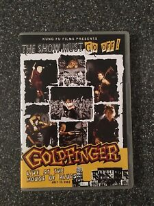Goldfinger Live DVD - Like New - Live At The House Of Blues The Show Must Go Off