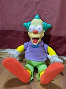 Playmates Simpsons Treehouse of Horror Talking Krusty the Clown Doll MINTY! 2001