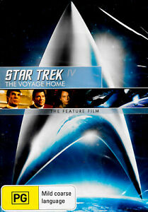 Star Trek IV: The Voyage Home - Rare DVD Aus Stock New Region 4