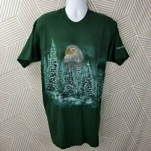 Vintage 90s Potter Park Zoo Tee Size XXL/XL Eagle Forest Fruit of the loom Heavy