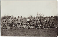 1. Weltkrieg, Gruppenbild, Original-Photo, um 1916