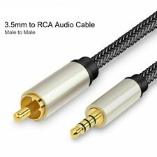 Digital Coaxial Audio Video Cable Stereo SPDIF RCA To 3.5mm Jack Male For HDTV