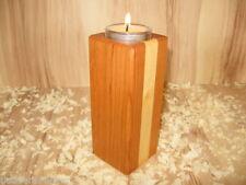 Deko-Kerzenteller & -tabletts aus Holz für Teelichter