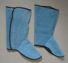 Leather Welding Shoe Spats Protectors Welder Working Industrial Tool