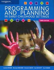 Programming and Planning in Early Childhood Settings- 3rd edition textbook