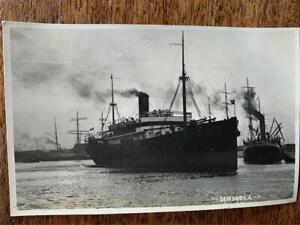 C 1930  SS Dimboola Melbourne Steamship Company steamer ship postcard