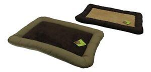 Waterproof Dog Bed Soft Fleece Machine Washable Pet Bed Cushion Luxury Basket
