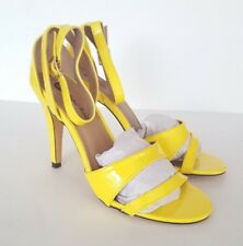 Michael Antonio Ranaldi-Pat Women's Yellow High Heel Sandals - Size 8, 8.5, 9