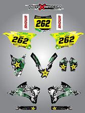 Kawasaki KX 85 2014 - 2018 Full custom graphics kit GRAFFITI  Style sticker kit