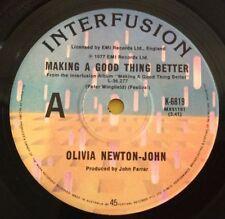 Olivia Newton-John Very Good (VG) Sleeve Vinyl Records