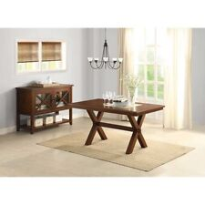 Better Homes and Gardens Maddox Crossing Dining Table, Br W