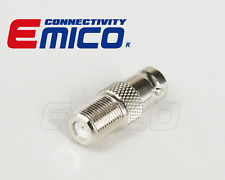 Adapter, 1  PCS OF BNC FEMALE TO F FEMALE, NICKEL (Adapter-BC052)