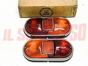 Lights Rear Fiat 1300 1500 Sedan Original