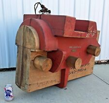 Vintage Industrial Foundry Pattern Casting Form Peoria Illinois SHIP BARGE Mold