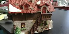 Rare Vtg 1987 Department 56 Alpine Village Series Josef Engel Farmhouse Euc