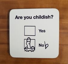 BIRTHDAY gift idea naughty rude funny COASTER boyfriend husband present joke