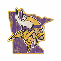 Minnesota Vikings Holzschild NFL Football Bundesstaat USA Amerika