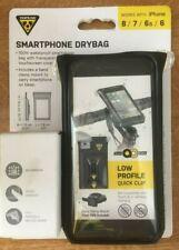 Topeak Bicycle Cycle Bike iPhone 6 / 6s / 7 / 8 Phone Case Drybag Black