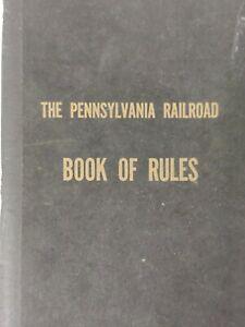 Pennsylvania Railroad Book Of Rules 1956 RAILRODIANA Historic