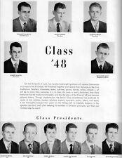 1948 San Francisco St. Ignatius High School Yearbook~Photos~History~Football~++