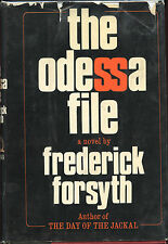 Frederick Forsyth - The Odessa File ( His 2nd Book ) 1972- 1st. Ed. VG
