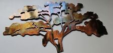 The Old Oak Tree Metal Wall Art Accent Decor