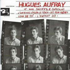 "HUGUES AUFRAY: CD SINGLE ""J'ENTENDS SIFFLER LE TRAIN"""