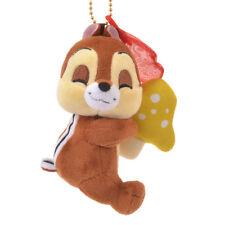 Japan Disney Store Chip n Dale Chip Plush Keychain