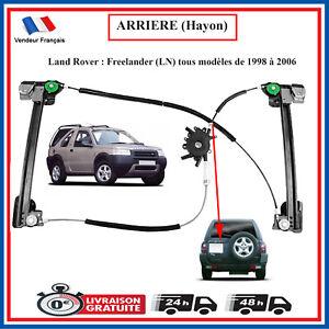 Land Rover Freelander Meccanismo Alzacristalli Vetro Posteriore Cofano CVH101150
