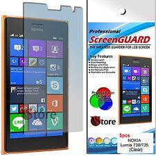 5 Pellicole Per Nokia Lumia 730 735 Pellicola Proteggi Salva Schermo Display 4,7