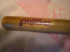 "NICE 18"" PHILADELPHIA PHILLIES 1990 SOUVENIR BASEBALL BAT, EX+!!!!"