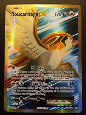 Carte Pokemon ROUCARNAGE 104/108 Ultra rare EX Full Art XY12 Française NEUF