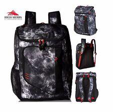 High Sierra BTS Poblano Unisex Backpack Bag in Atmosphere/Black/Crimson