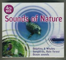 Sounds of Nature (4 CD Box Set 4 Hours Import) NEW