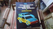 REVUE AUTOMOBILE NUMERO CATALOGUE 1984 AUTOMOBIL REVUE KATALOGNUMMER
