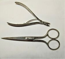 Vintage Wiss USA No 765 scissors, 5 inches & Wiss clippers No 4225