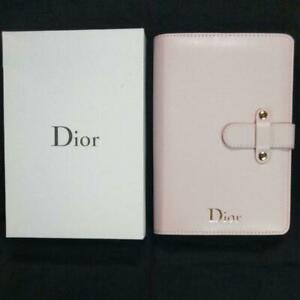 Dior novelty notebook Pinl Schedule Book Not for Sale Rare Lmited